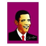 Ejemplo del vector de Barack Obama Tarjetas Postales