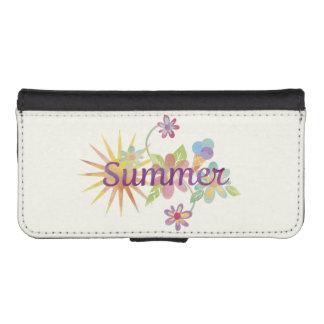 Ejemplo del verano billetera para teléfono