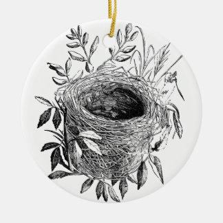 ejemplo del vintage de la jerarquía del pájaro ornamente de reyes