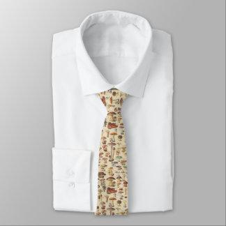 Ejemplo del vintage de setas corbata