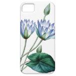 Ejemplo del vintage de Waterlilies de Redoute iPhone 5 Case-Mate Funda