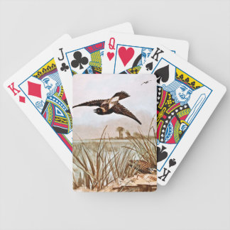 Ejemplo del vintage del pájaro de Bobolink Baraja Cartas De Poker