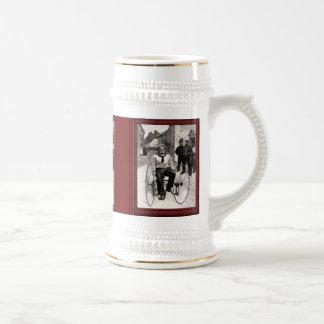 Ejemplo del vintage - especialmente para el marine jarra de cerveza