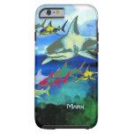 ejemplo digital de los tiburones funda resistente iPhone 6