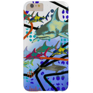 ejemplo digital de tiburones funda de iPhone 6 plus barely there