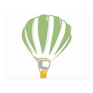 Ejemplo digital del globo del aire caliente postales