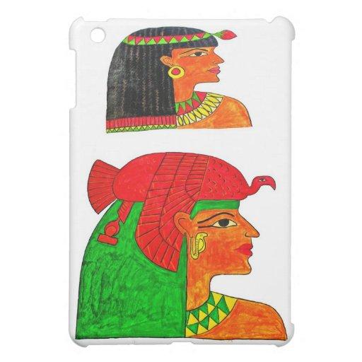 Ejemplo egipcio del Queens con el tocado