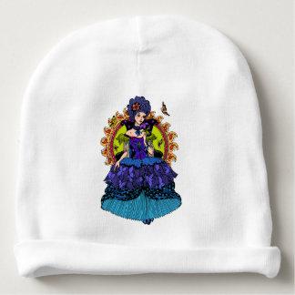 Ejemplo elegante de la princesa con la mariposa gorrito para bebe