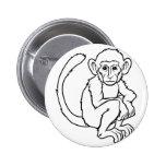 Ejemplo estilizado del mono pin