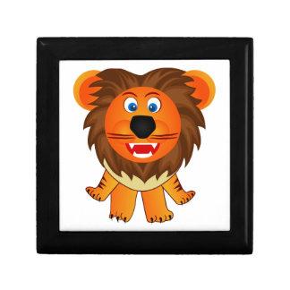 Ejemplo feliz lindo de la animación del león