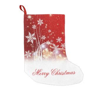"""Ejemplo festivo hermoso """"de las Felices Navidad"""" Calcetín De Navidad Pequeño"""