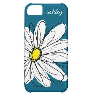 Ejemplo floral de la margarita de moda - azul y am