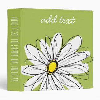 Ejemplo floral de la margarita de moda - cal y ama