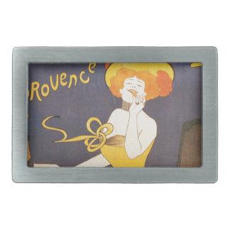 Ejemplo francés del vintage de Amandines de Hebilla De Cinturon Rectangular