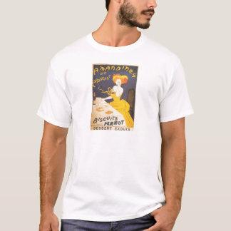 Ejemplo francés del vintage de Amandines de Playera