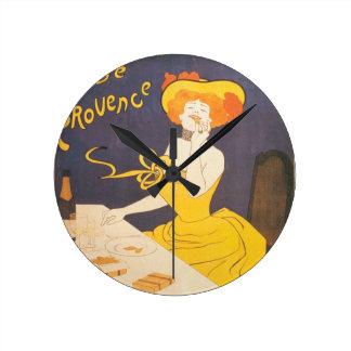 Ejemplo francés del vintage de Amandines de Reloj Redondo Mediano