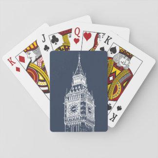 Ejemplo fresco de la foto de Big Ben Baraja De Póquer