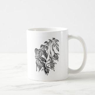Ejemplo fucsia hortícola taza clásica