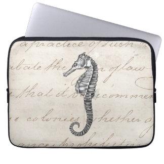 Ejemplo hawaiano del caballo de mar de los 1800s d funda computadora