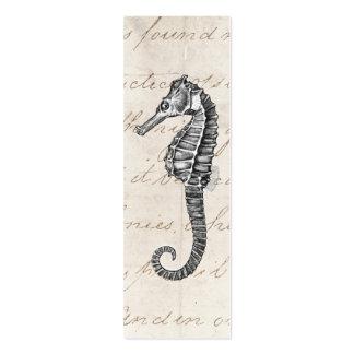 Ejemplo hawaiano del caballo de mar de los 1800s d tarjetas de visita mini