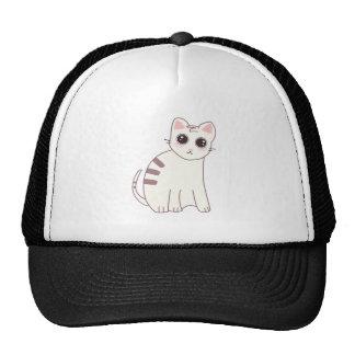Ejemplo lindo del gato de Kawaii Gorro De Camionero