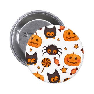Ejemplo lindo del modelo de Halloween Pin