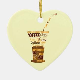 Ejemplo moderno del café ornamente de reyes