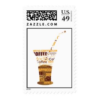 Ejemplo moderno del café envio