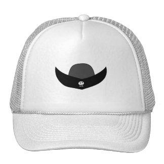 Ejemplo negro del gorra del pirata