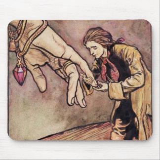Ejemplo original del watercolour para Gulliver Tapetes De Ratón