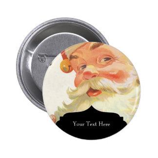 Ejemplo Papá Noel del vintage Pin