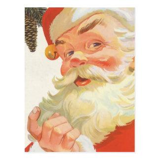 Ejemplo Papá Noel del vintage Tarjetas Postales