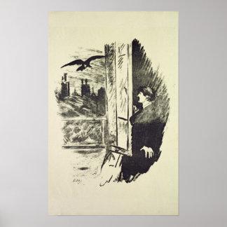 Ejemplo para 'el Raven Póster