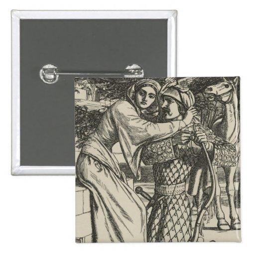 Ejemplo para la balada de Oriana Pin Cuadrada 5 Cm
