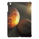 Ejemplo planetario del desplome del Apagado-Mundo iPad Mini Protector