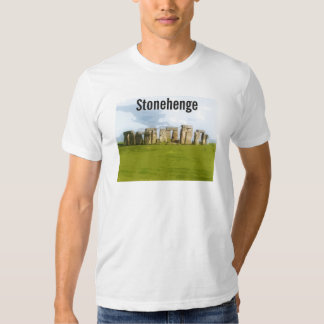 Ejemplo prehistórico de Stonehenge Camisas