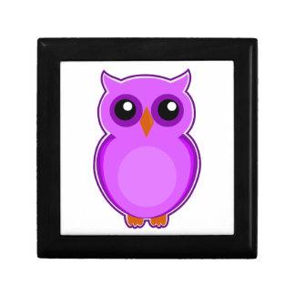 Ejemplo púrpura lindo de la animación del búho