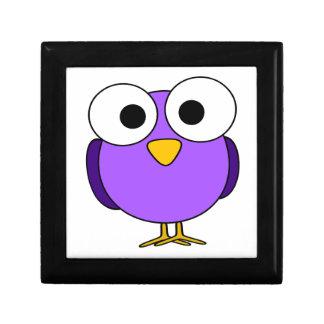 Ejemplo púrpura lindo de la animación del pájaro