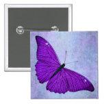 Ejemplo púrpura oscuro de la mariposa de los 1800s pins