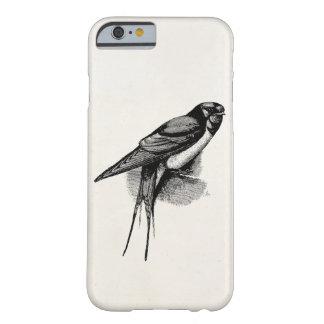 Ejemplo rápido del pájaro del trago de granero del funda para iPhone 6 barely there
