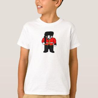 Ejemplo real británico del dibujo animado del camisas