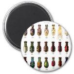 Ejemplo retro de Bettles de los insectos del kitsc Imán De Frigorífico