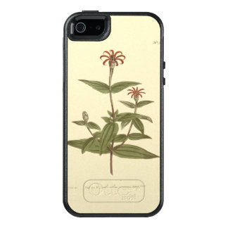 Ejemplo rojo florecido delgado del Zinnia Funda Otterbox Para iPhone 5/5s/SE