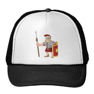 Ejemplo romano fuerte del soldado gorras de camionero