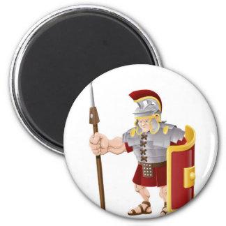 Ejemplo romano fuerte del soldado imán de frigorífico