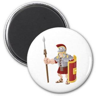 Ejemplo romano fuerte del soldado iman de frigorífico