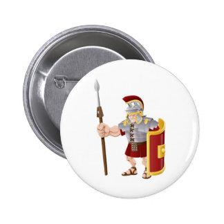 Ejemplo romano fuerte del soldado pin