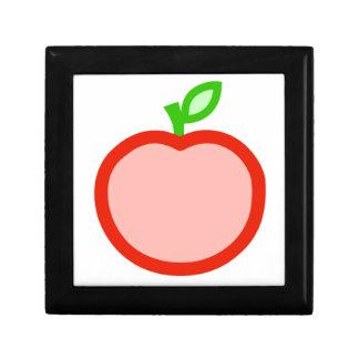 Ejemplo rosado de la animación de la manzana