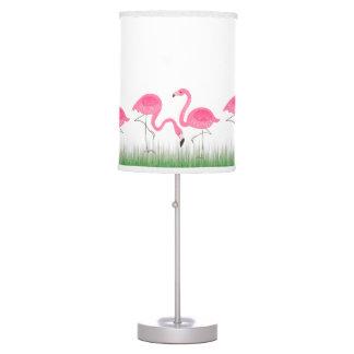 Ejemplo rosado lindo de los flamencos lámpara de mesa