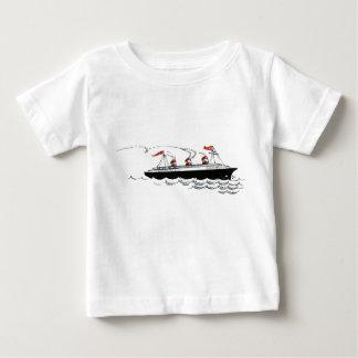 Ejemplo simple de la nave del vintage playeras